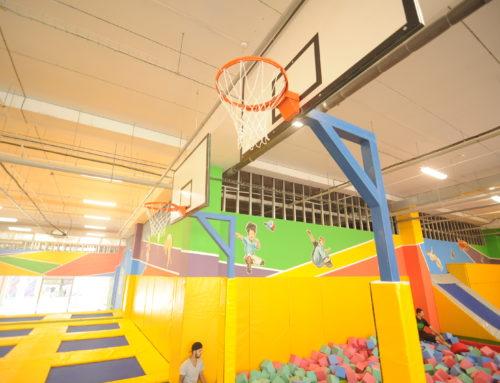 Баскетбол на батутах